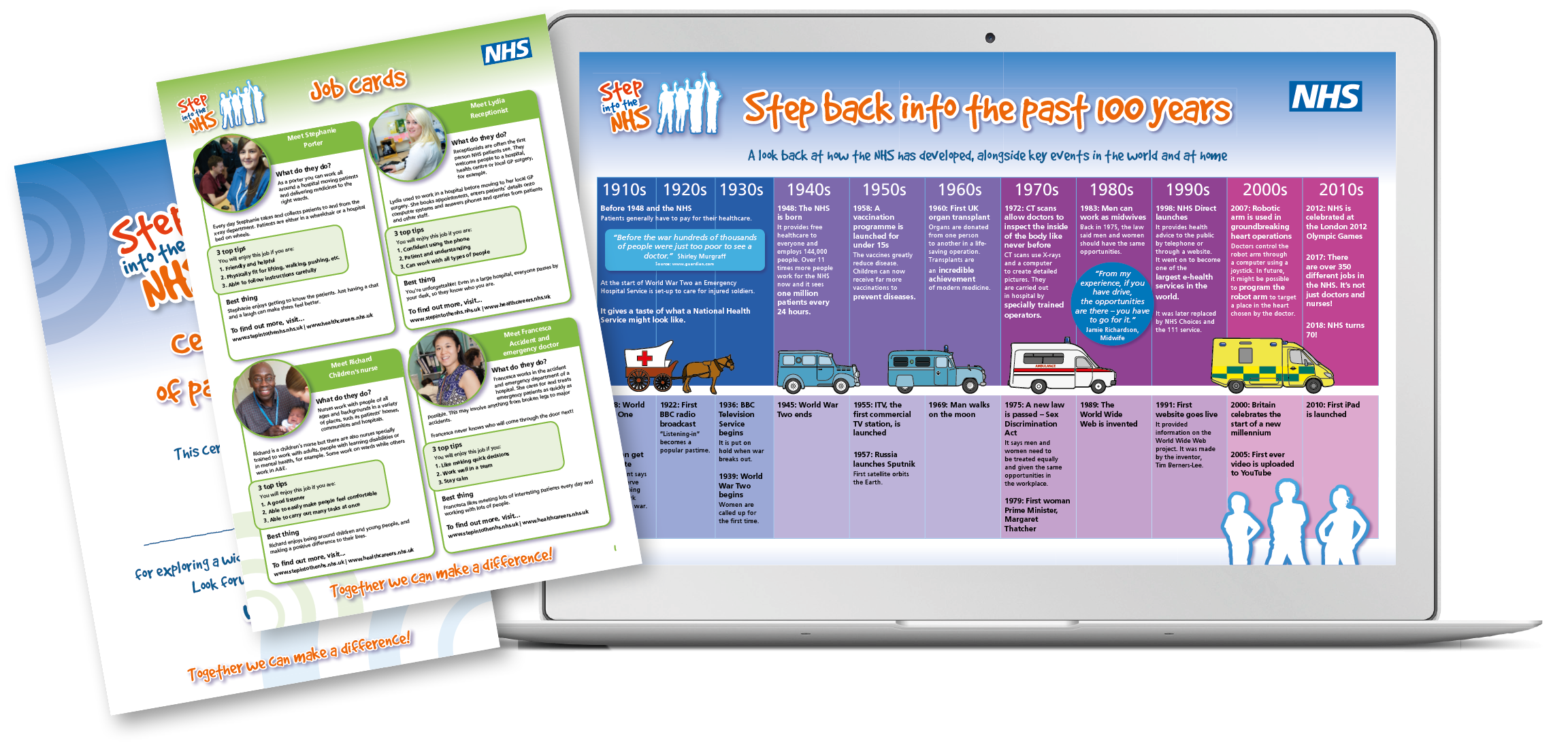 Step into the NHS toolkit