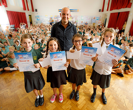 primary school nhs winners