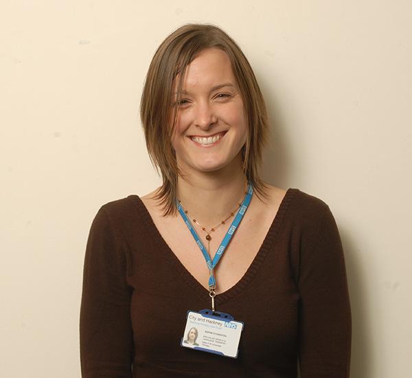 Female smiling at camera